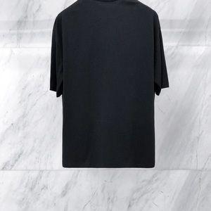 4157fd99e957 Balenciaga Shirts - Balenciaga Black Oversized Rainbow 'BB' T-Shirt